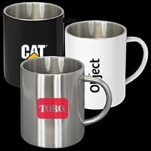 Steel Coffee Mugs