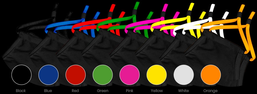 Mask Strap Colours