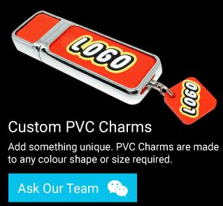 PVC USB Charms