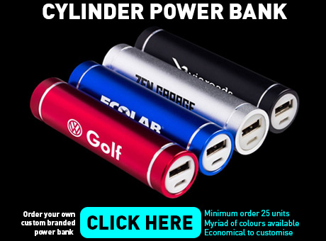 Cylinder Power Bank