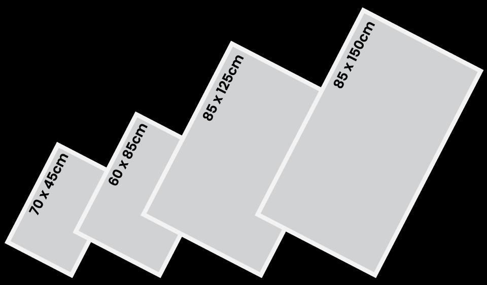 floor mat sizes