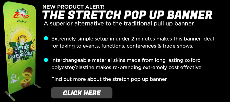 Stretch Pop Up Banner
